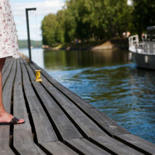 Asikkala Vääksyn kanava Vääksy canal