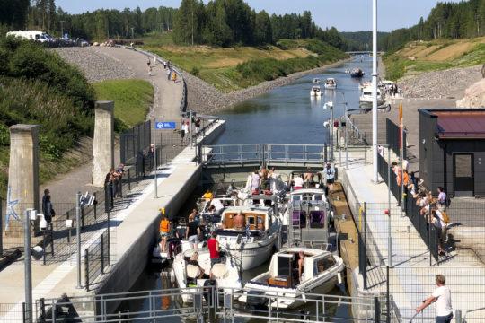 Kimolan kanava Kimola canal
