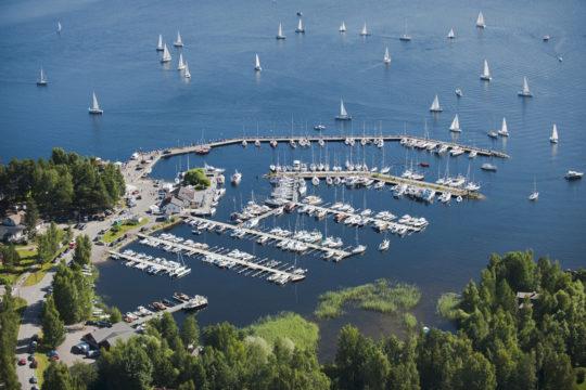 Padasjoen Laivaranta Kiuasniemi Marina Päijänne Padasjoki Harbour