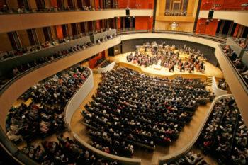 Sibeliustalo pääsali Sinfonia Lahti konsertti Lahti Sibelius Hall main hall Lahti Symphony Orchestra
