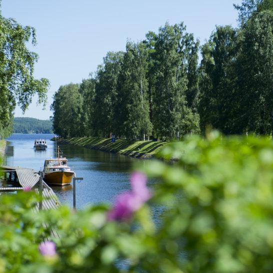 Vääksyn kanava Asikkala canal