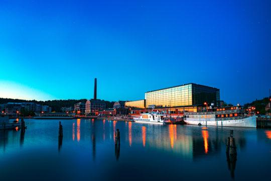 Lahden satama Vesijärven satama Lahti Harbour Lake Cruise Sibeliustalo Sibelius Hall risteily