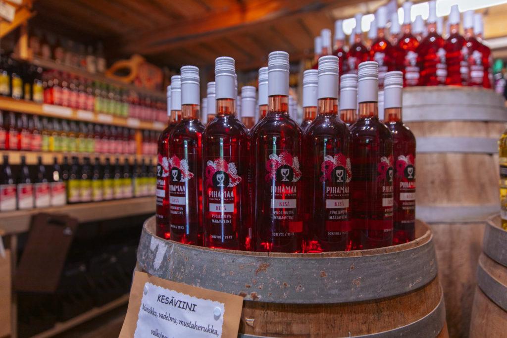 Viini- ja Puutarhatila Pihamaa Vineyard and Brewery Pihamaa