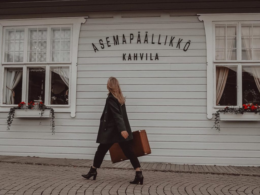 Asemapäällikkö kahvila cafe Lahti