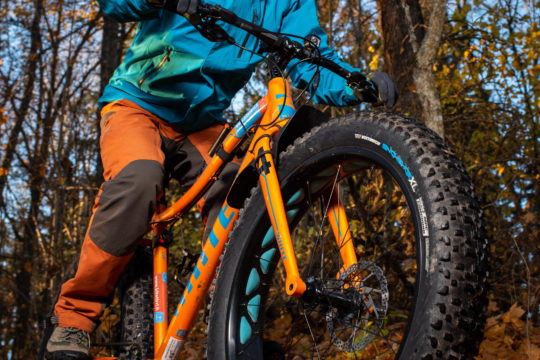 Kitetirri fatbike luontoretki vuokrapyörä Salpausselkä Lahti rental bike