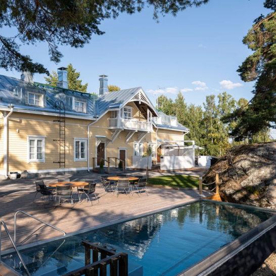 Ilola Inn infinity pool hotelli Sysmä Päijänne