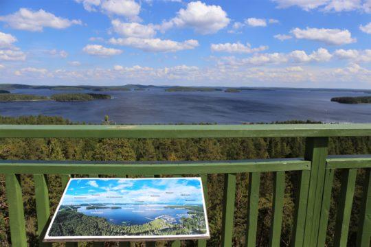 Kullasvuori maisematorni Päijänteen kansallispuisto Padasjoki Päijänne National Park