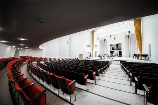 Lahden konserttitalo Felix Krohn -sali Lahti