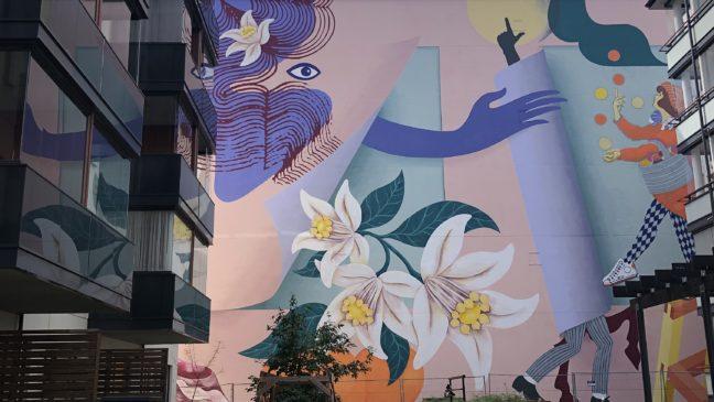 Malski muraali Lahti mural