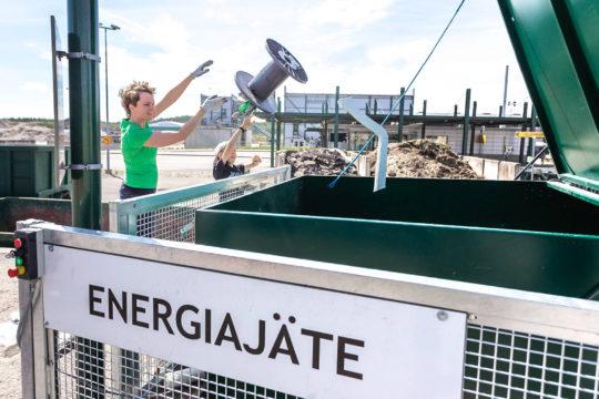 Päijät-Hämeen Jatehuolto Kujalan kierrätyskeskus Kujala Wate Management Centre