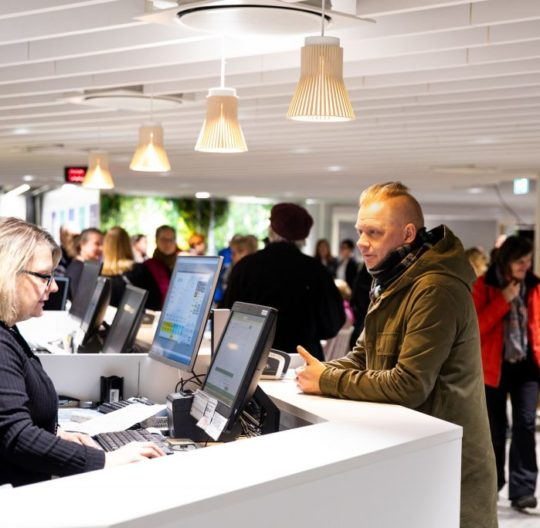 Palvelutori Lahti-Piste matkailuneuvonta tourist information