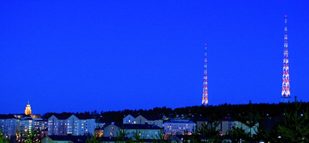 Radiomastot Radiomäki Lahti