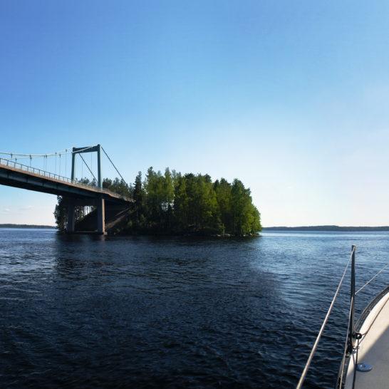Pulkkilanharju ridge Päijänne purjevene sailboat