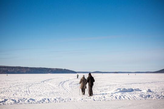 Vesijärvi talvi winter
