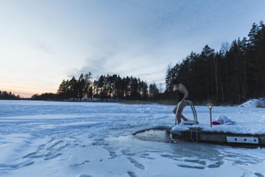 Avantouinti winter swimming