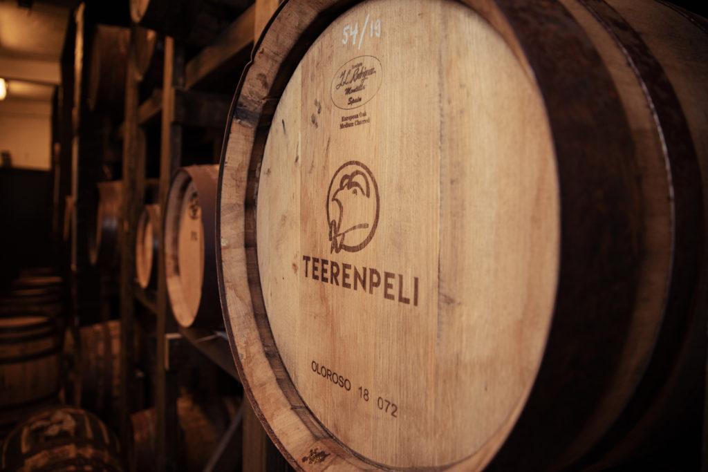 Teerenpeli viskitynnyri whisky barrel