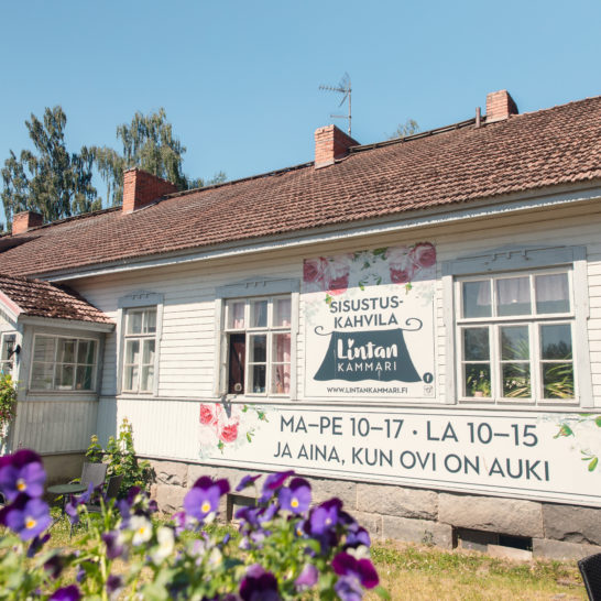 Lintan Kammari sisustuskahvila cafe and boutique