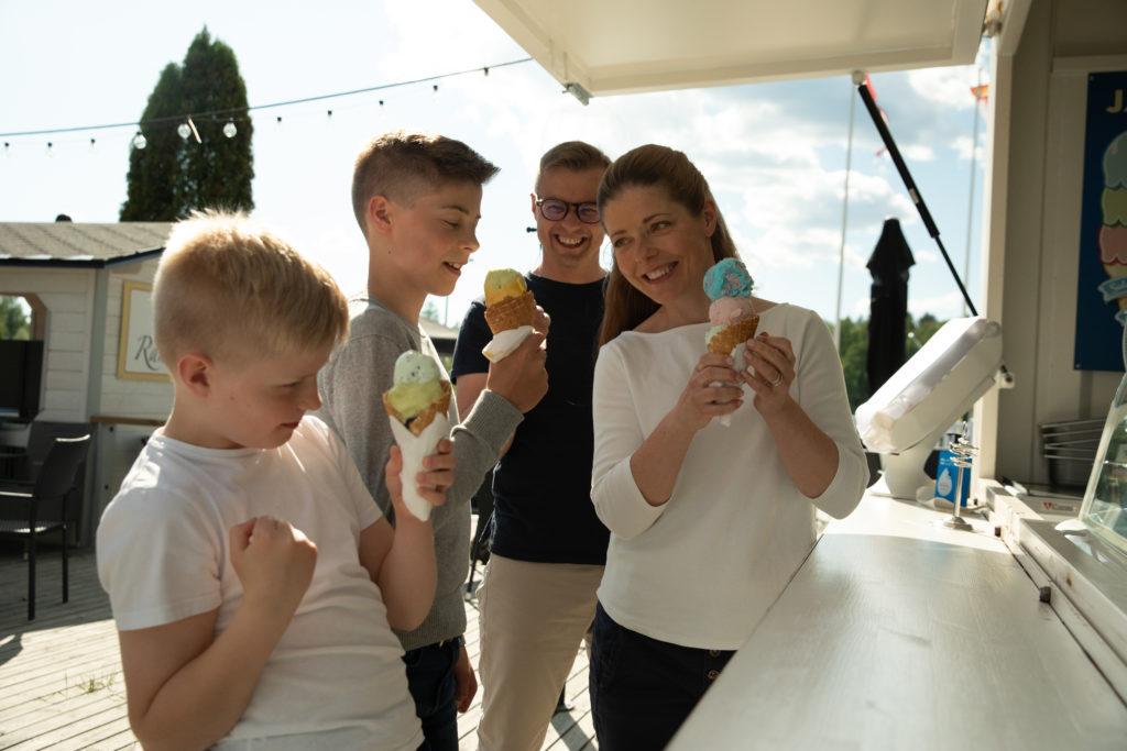 RantaCasino jäätelökioski ice cream