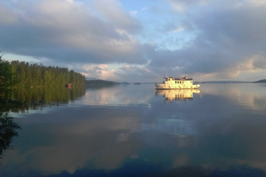 m/s Happy Days -laiva Lahti Vesijärvi