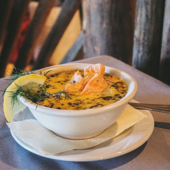 Heinolan Heila lohikeitto salmon soup