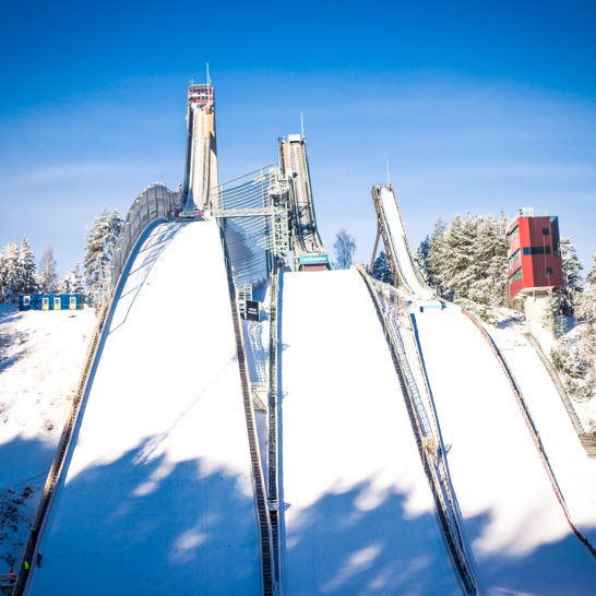 Lahden hyppyrimäet Ski jumping hills