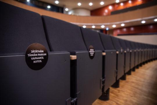 Sibeliustalo istuin seat