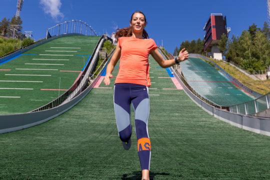 Juoksija Lahden Urheilukeskus runner