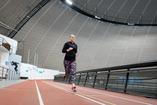 Vierumäki juoksutesti sports hall