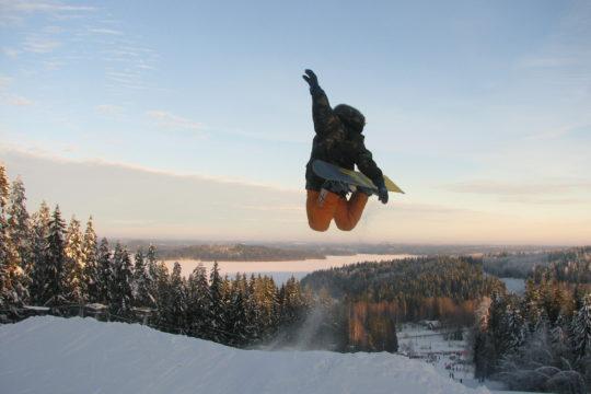 Messilä lumilautailu Snowboarding