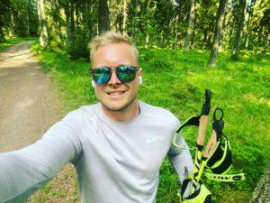 Mikko Kittelä sauvakävely nordic walking
