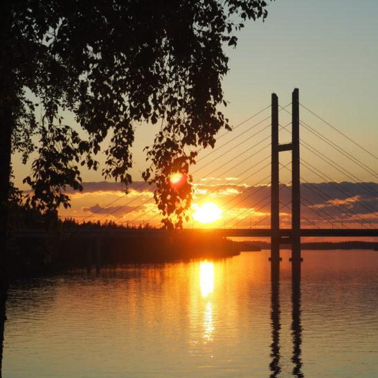 Heinola Tähtisilta auringonlasku sunset