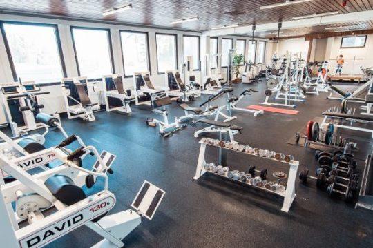 Pajulahti kuntosali gym
