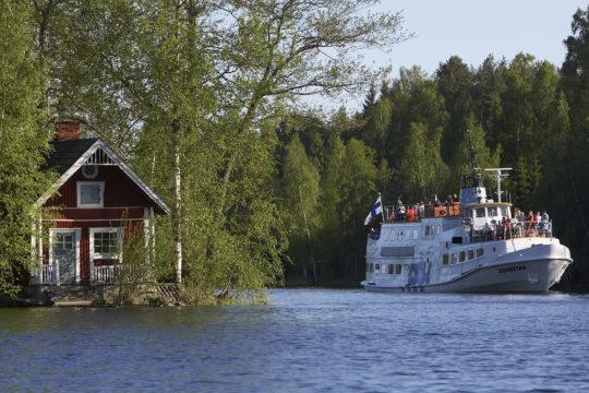 Päijänne-Risteilyt Hilden järviristeily Päijänteellä lake cruise
