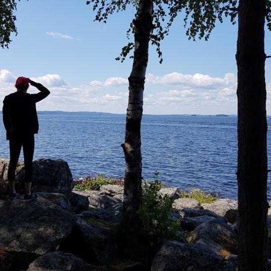 Päijätsalo Päijänteen kansallispuisto Päijänne National Park Salpausselkä Geopark