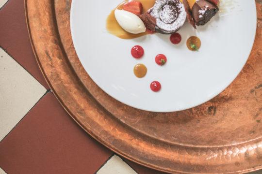 Ravintola Roux suklaatrilogia Restaurant Roux Chocolate Trilogy