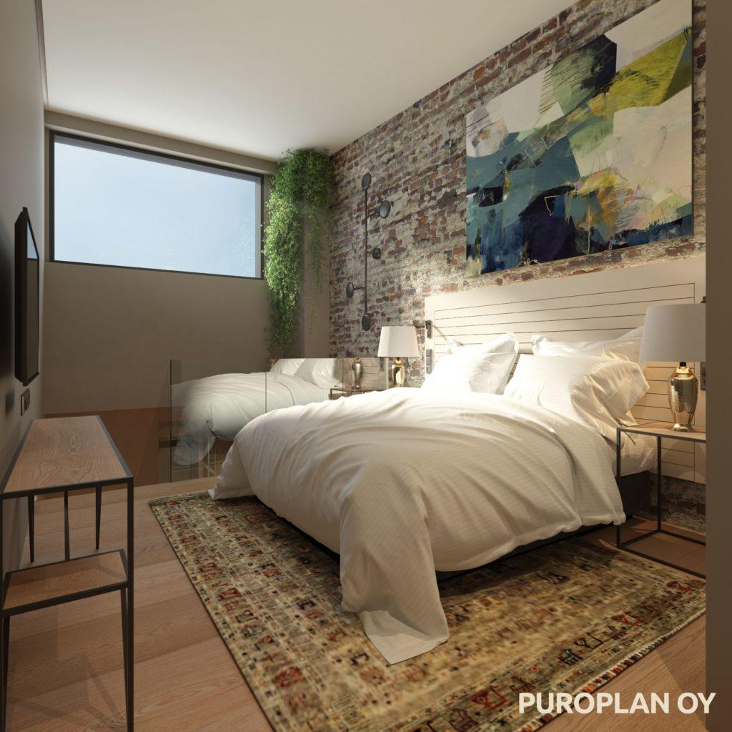 Solo Sokos Hotel Lahden Seurahuone loft havainnekuva