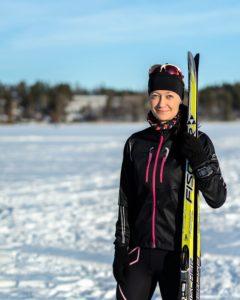 Teru Schroderus hiihto skiing
