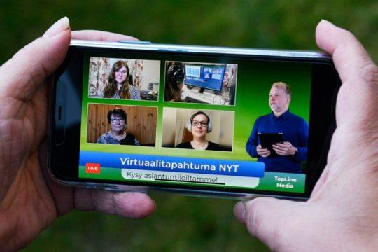 Topline media virtuaalistudio