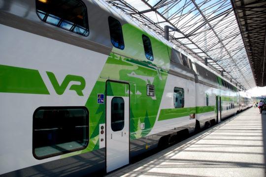 VR Juna train