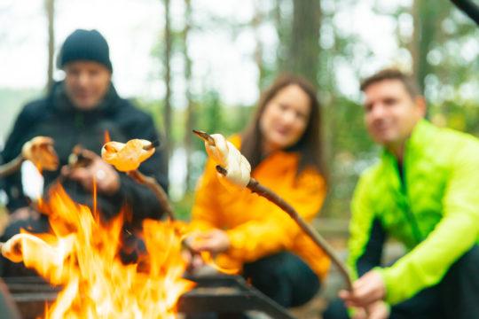 Yli-Kaitala Resort nuotio open fire tikkupulla