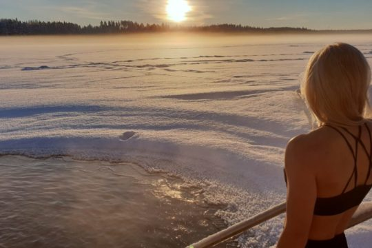 Pajulahti avantouinti winter swimming