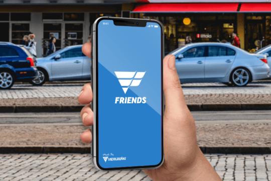 Vierumäki Friends sovellus app