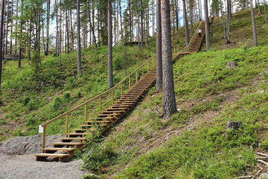 Padasjoki kuntoportaat fitness stairs