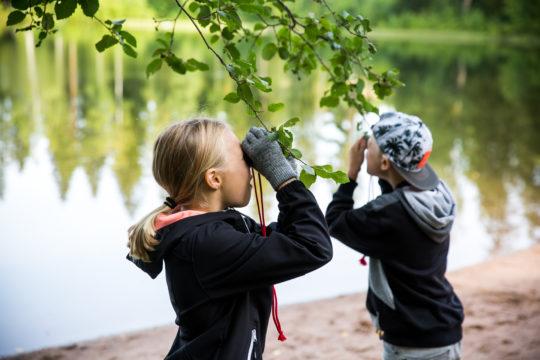 Green Lahti ympäristökasvatus school visit kouluvierailut
