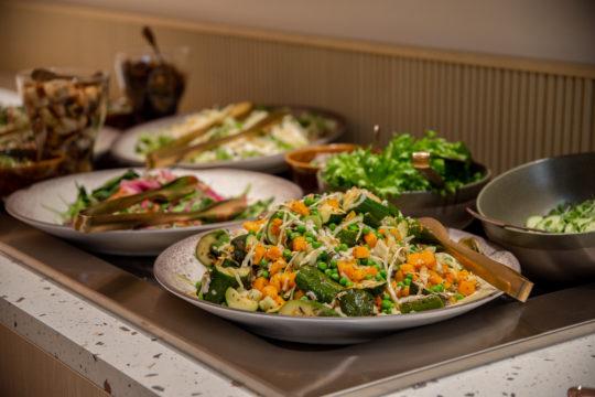 Sibeliustalo Ravintola Lastu salaattibuffet