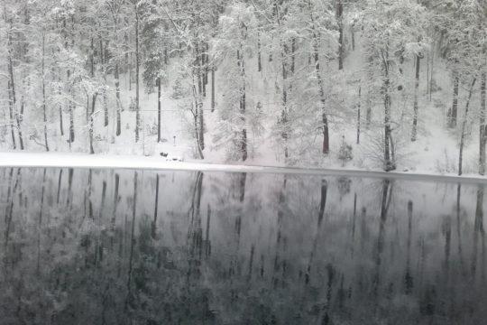 Valkjärvi Vierumäki lake scenery
