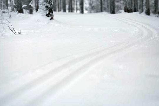 Vierumäki hiihtolatu skiing track