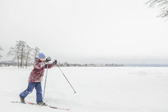 Mukkula hiihto skiing
