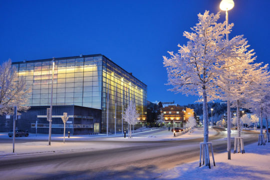 Sibeliustalo Sibelius Hall talvi winter