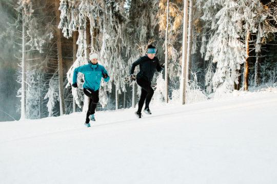 Maastojuoksua Salpausselällä running